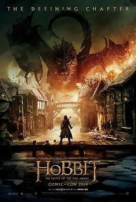 The Hobbit: The Battle of the Five Armies Movie POSTER 27 x 40, B, LICENSED, NEW