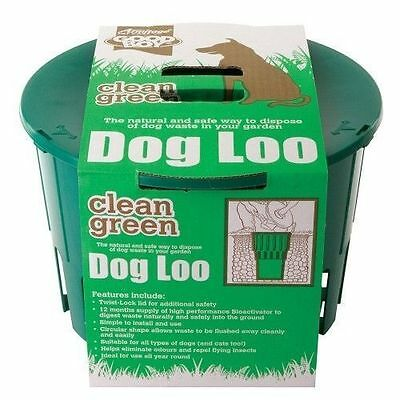 Armitage Good Boy Dog Waste Toilet Poo Disposal Loo Bio Activator Capsules Scoop