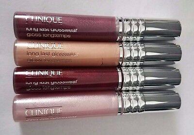 Clinique Long Last Glosswear Lipgloss (Select Color) New in Box Full Size .2 oz