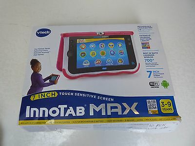 VTech Innotab 7 Inch MAX - Pink EX DISPLAY - NO PEN BUT NOT REQUIRED