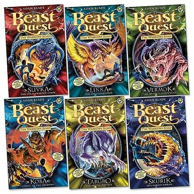 Beast Quest: Series 13 Pack (6 books) RRP £29.94