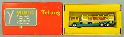 Triang Minic Motorways M1551 OIL TANKER *RARE FRENCH*  REVERSED COLOURED BOXED