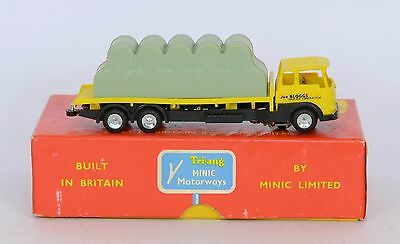 Triang Minic Motorways M1546 BALE LORRY FABULOUS RUNNER NEAR MINT BOXED
