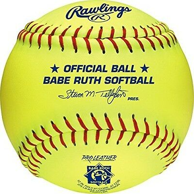 Rawlings Sporting Goods 30cm Babe Ruth Softball PX2RYLBR. Free Shipping