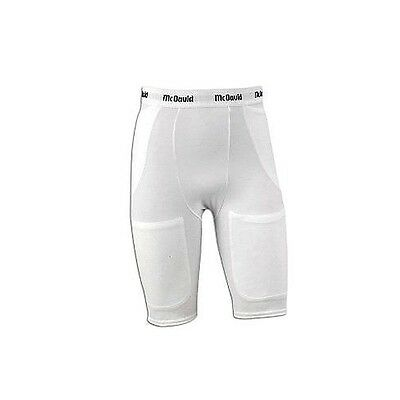 Mcdavid Classic 750 Adult Pro Model 5 Pocket Girdle White Small. Shipping Includ