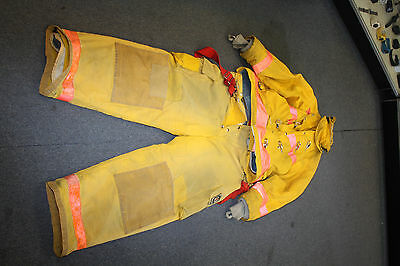 Chiefton  Firefighter Turnout Gear Jacket And Pants 46c 30/36l 35s,44-31