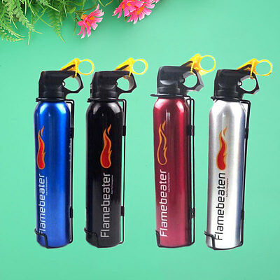 Mini ABC Dry Powder Aluminum Fire Extinguisher Home Car Safety Security