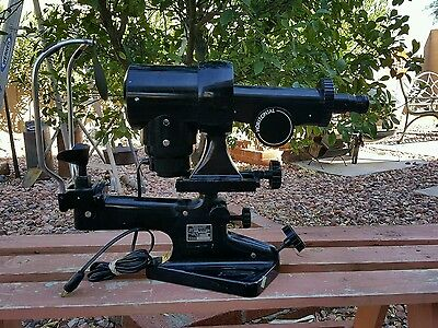 Vintage bausch and lomb keratometer/ophthalmic equipment