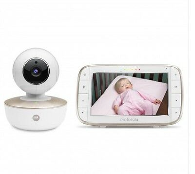 "Motorola Mbp855 Connect 5"" Portable Digital Video Baby Monitor With Wifi"