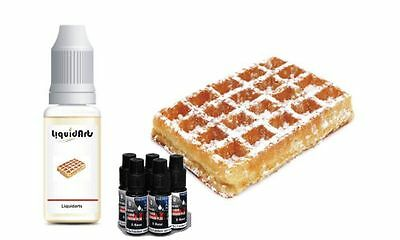 Waffel 50ml MixnVape Set E-Liquid eliquid base basis & aroma set Liquidarts