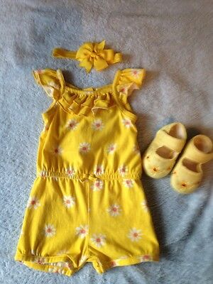 Mothercare Baby Girl Summer Outfit Age 3-6 Months