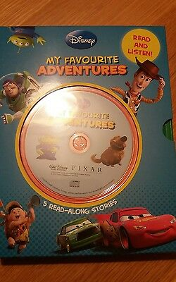 Disney My favourite adventures - 5 books and CDs