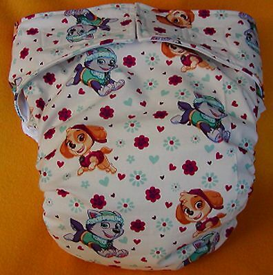 Adult New AIO Reusable Super Absorbent Cloth Diaper S,M,L,XL Paw Patrol Ladies