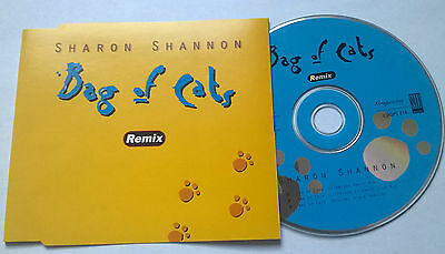 Sharon Shannon * Bag Of Cats * Rare 3 Trk Remix Cd 1997 Irish Release