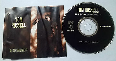 Tom Russell * Out Of California Ep * Rare 6 Track Cd Irish Release