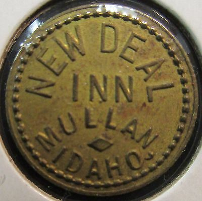 Trade Token: New Deal Inn  Mullan, Idaho W/ Free Shipping!!