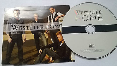 Westlife * Home * Rare 2 Track Cd + Hard To Say I'm Sorry 2007