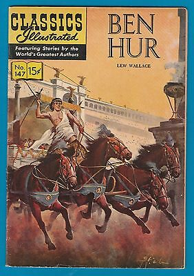 Classics Illustrated Comic Book 1958 Ben Hur # 147  #738