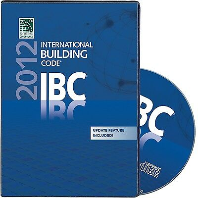 2012  International Building Code ( IBC) - GENUINE