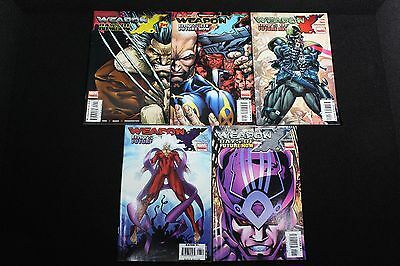 WEAPON X: DAYS OF FUTURE NOW #1-5; (2005) Marvel Comics; Complete Set