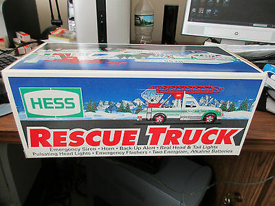 One   Hess Rescue Truck  1994,   Mint In Box