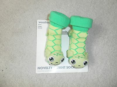 Babies Novelty Socks Frogs Age 0-3 Months New