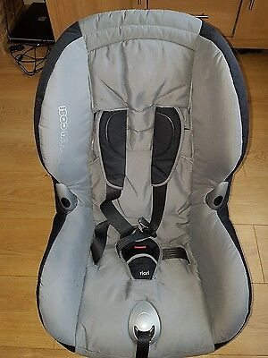 Maxi cosi priori XP group 1 (9-18kg/9mths-4yrs) car seat in solid grey