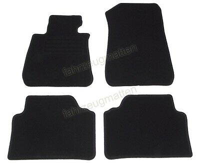 BMW E90 / E91 3er ab Bj.03/2005 - Velour Car mats - Floor mats