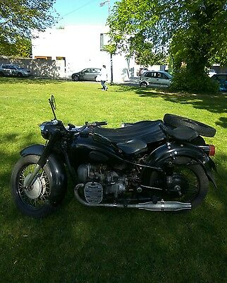 dnepr K750 sidecar motorcycle,for sale