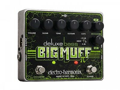 Electro-Harmonix Deluxe Bass Big Muff Pi Bass Distortion Effect Pedal. Brand New