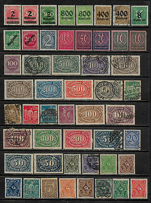 [X-422] Germany Small Lot of Mint and Used Stamps