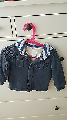 Country Road baby size 2 toddler boy padded warm jacket coat hoody top.