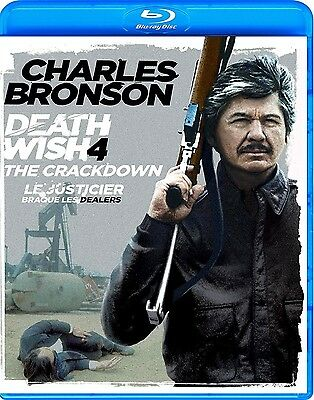Death Wish 4: The Crackdown (Charles Bronson) *new Blu-Ray*
