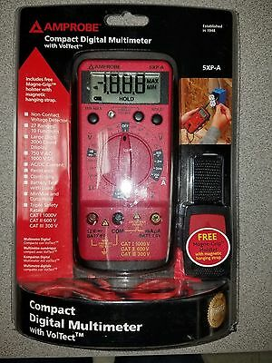 Amprobe 5Xp-A Compact Digitial Multimeter With Voltect