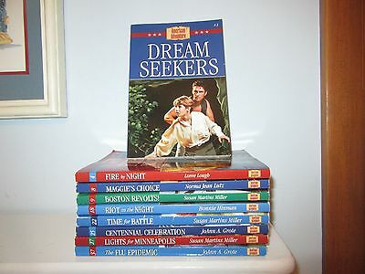 Teacher Lot of 9 The American Adventure Historical Fiction Chapter Books 6 NEW