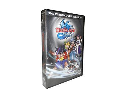 Beyblade: The Classic First Season 1 (DVD, 2014, 8-Disc Set)