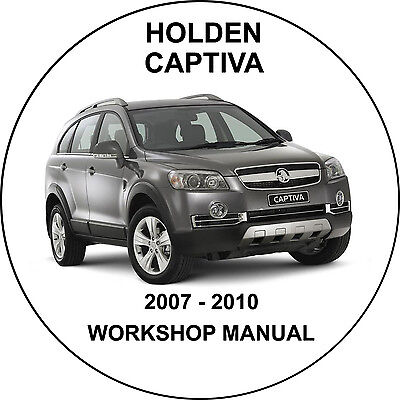 Holden Captiva 2006 - 2012 Petrol And Diesel Workshop Service Repair Manual