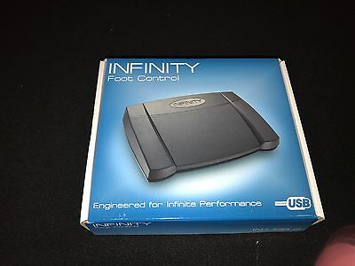 Infinity IN-USB-2 Transcribing Foot Control Pedal