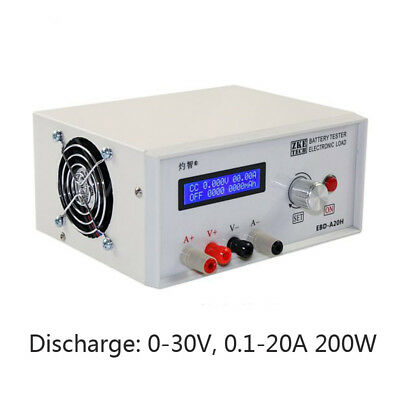 Electronic Load Power Aviation Mode Battery Discharge Capacity Tester 20A 200W