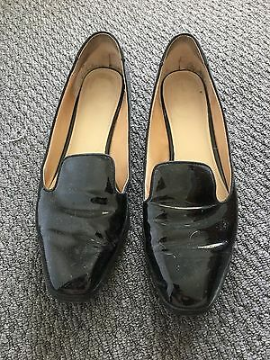 Wittner Ladies Size 9 Patent Leather Work Shoes