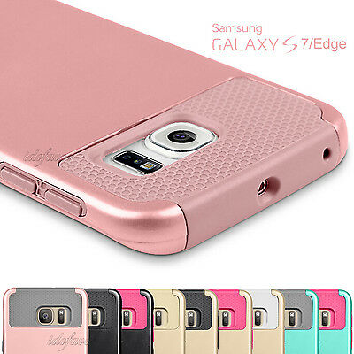 For Samsung Galaxy S7 / S7 Edge Phone Case Shockproof Hybrid Rugged Hard Cover