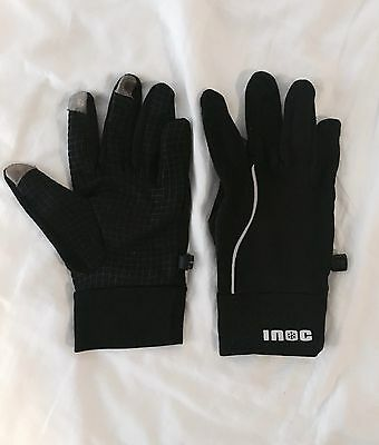 Inoc Touchscreen Black Snow Gloves- Size XL
