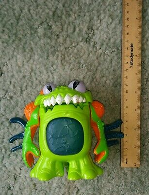 Fisher Price Imaginext Deluxe green alien monster toy doll figure Flawed