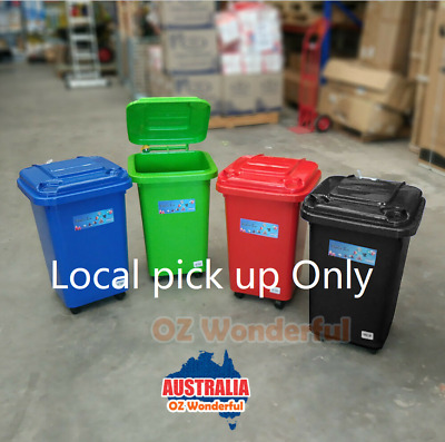 60L Wheelie Bin Mini Bin Desk Tidy Office Desktop Organiser Kid Toy Storage