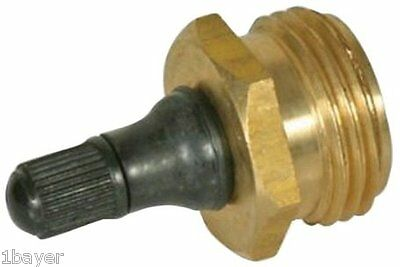 Camco Sport Outdoor Auto Boating RV Camper Trailer Brass Blow Water Inlet Plug