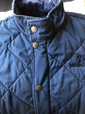 Ladies Mountain Horse Riding Vest Navy Med