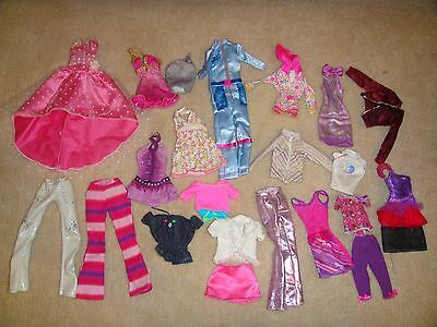 Mixed Lot Of Barbie Doll Clothes Lot 3