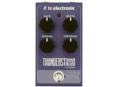 Tc Electronic Thunderstorm Effetto Flanger A Pedale Per Chitarra
