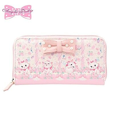 ❦Rare! HTF NEW Disney & Angelic Pretty The Aristocats Marie Long Wallet pink FS