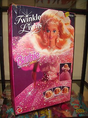1993 Twinkle Lights Barbie Doll Brand New In Opened Box See Listing